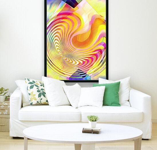 Multicolored Experimental Headache 21  Art