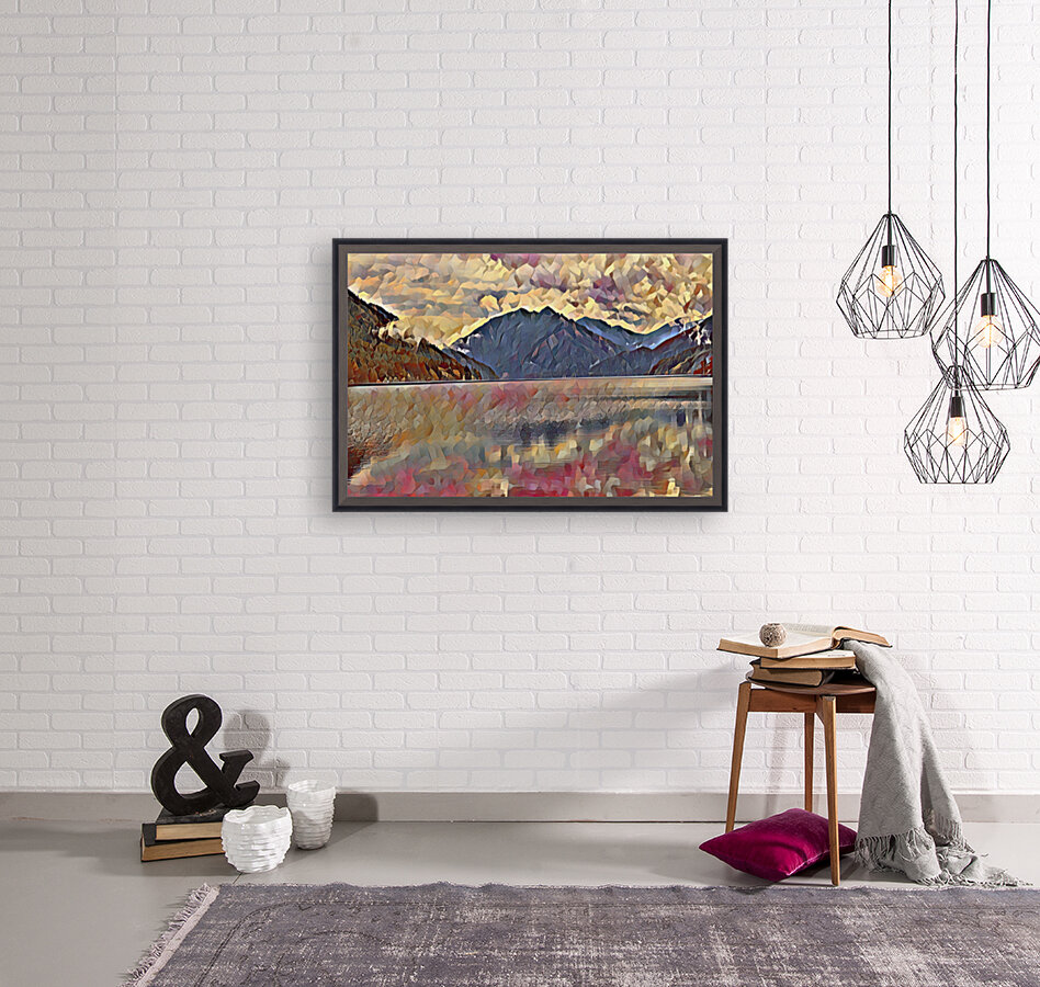 Lake Crescent  Art