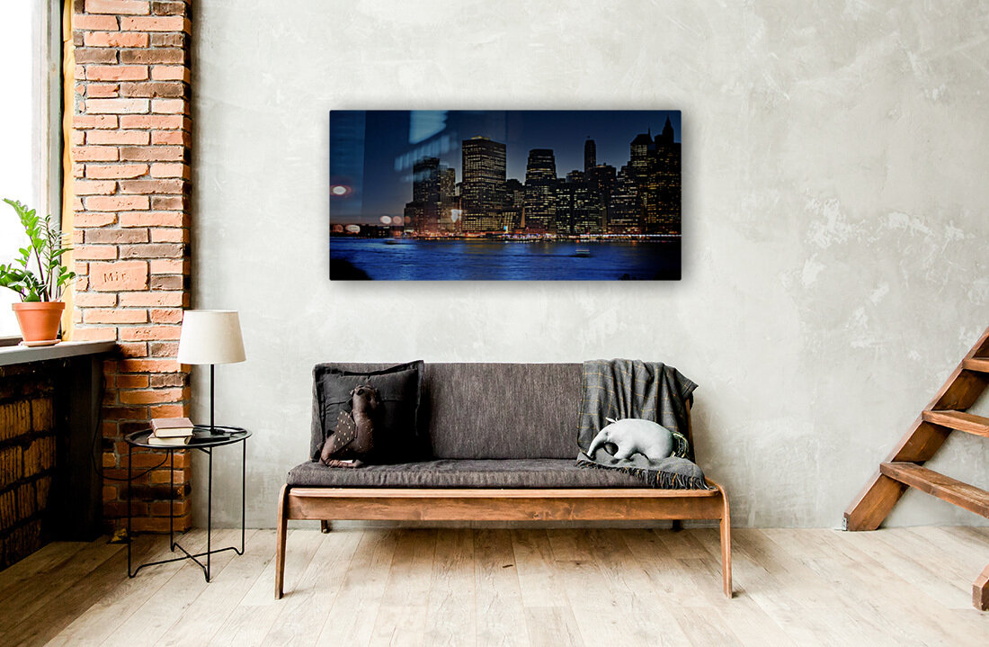 Brooklyn   USA Skyline  Art