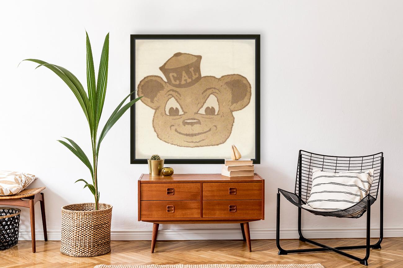 1966 Cal Bear Art | Row 1  Art