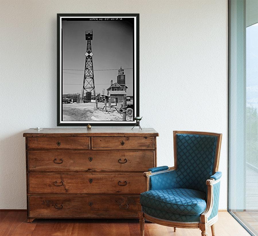 Mispillion-Beacon-Lighthouse-Delaware  Art