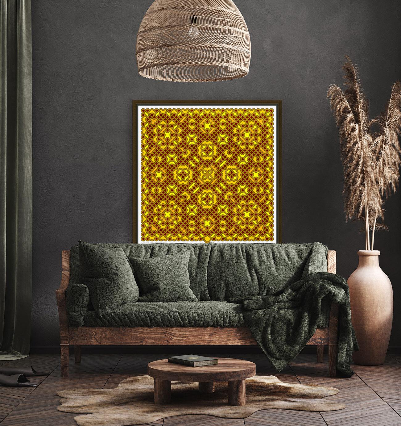Celtic Maze 5023  Art