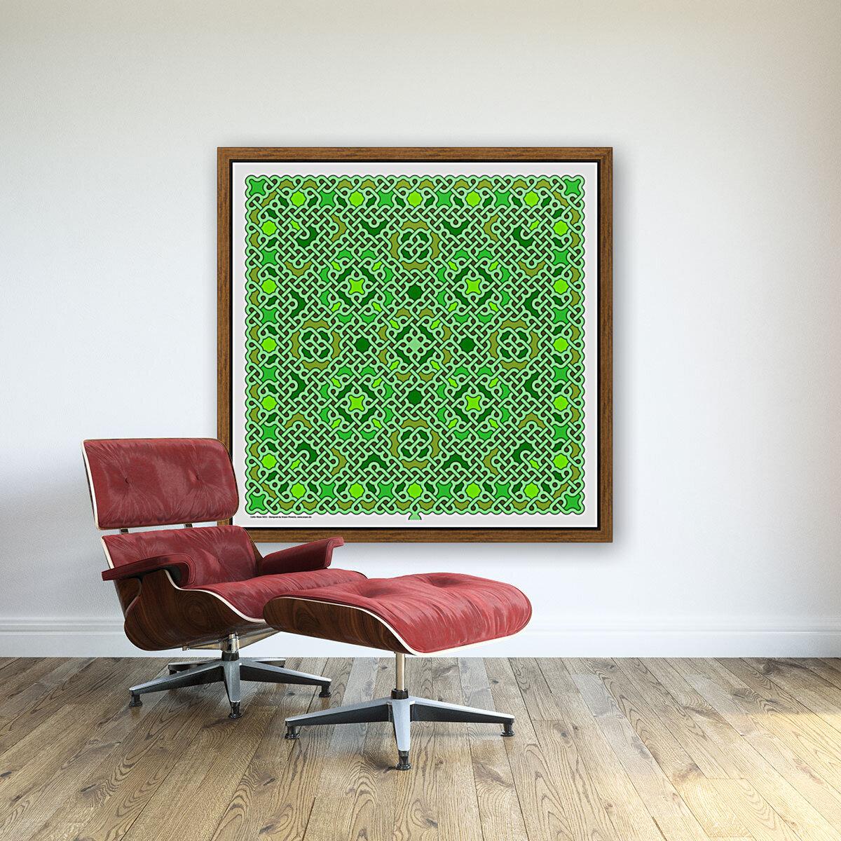 Celtic Maze 5021  Art