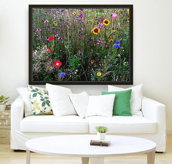 English Cottage Garden Flowers 2  Art