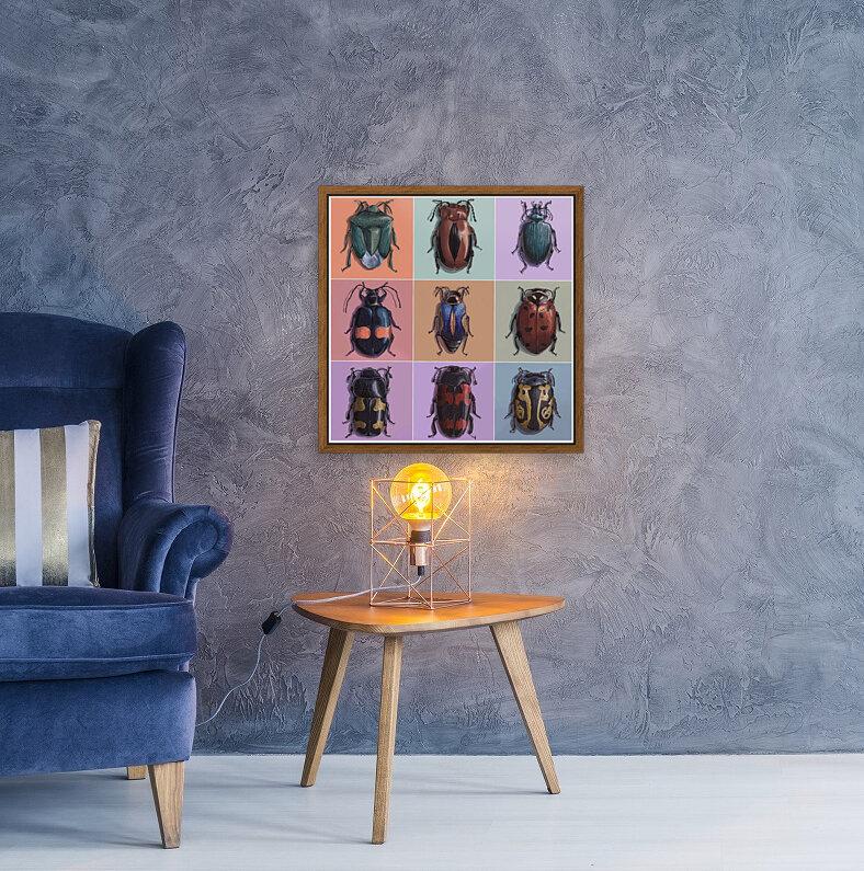 Assorted Beetles  Art