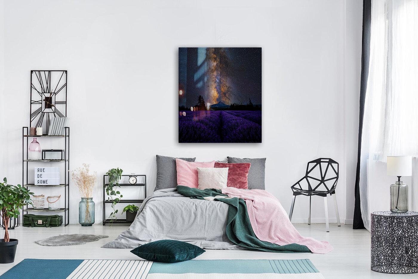 Lavender Valley  Art