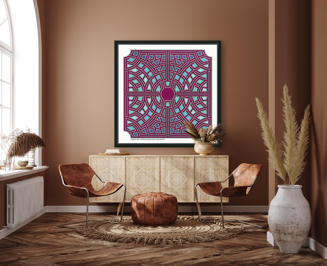 Labyrinth 1803  Art