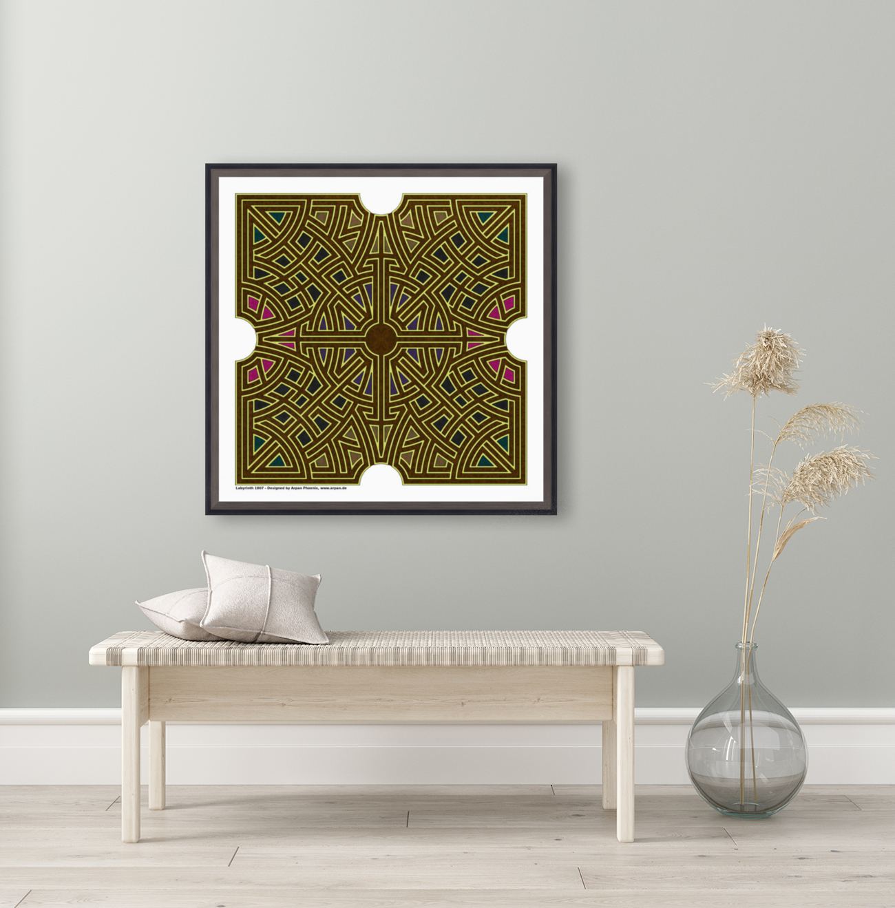 Labyrinth 1807  Art
