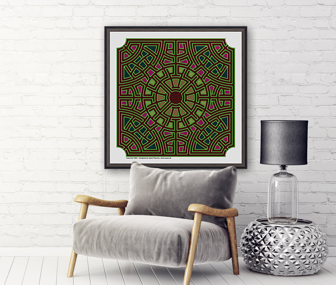 Labyrinth 1802  Art