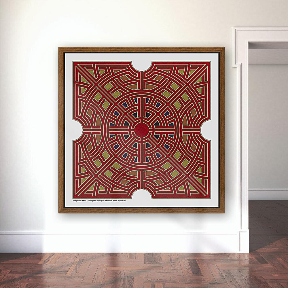 Labyrinth 1805  Art