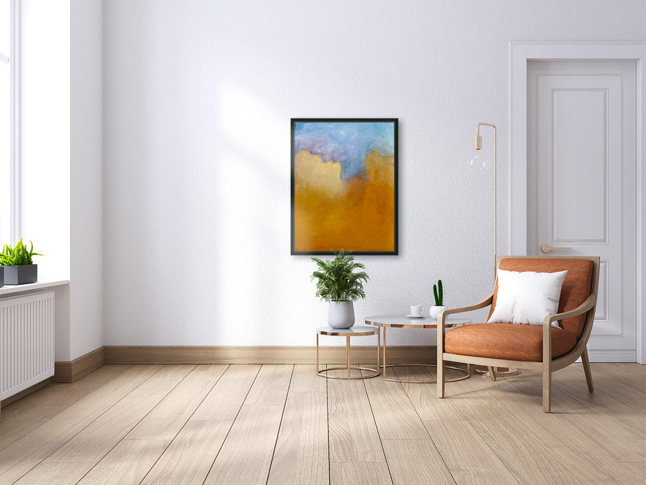 Big Orange Cloud  Art