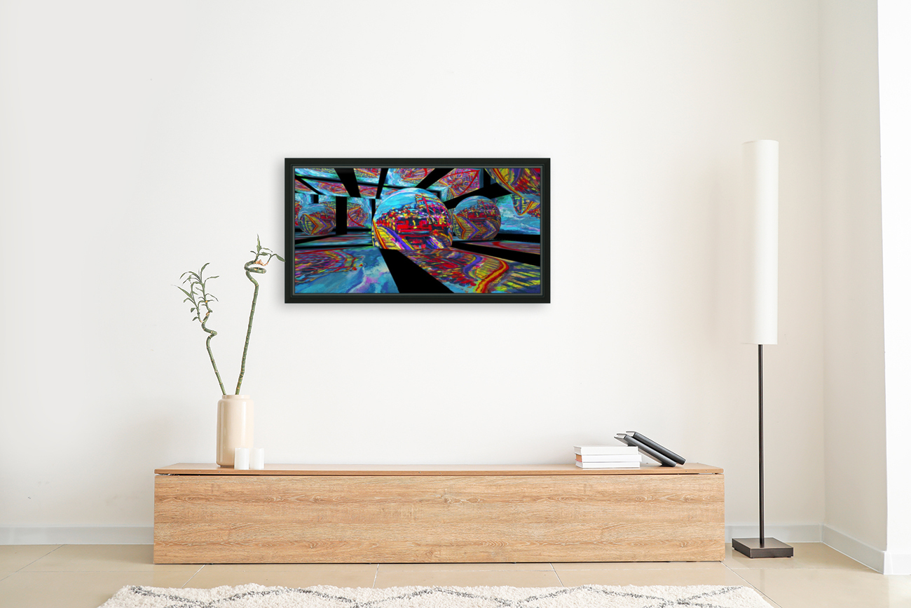 EXTREME Roller Coaster RoomXpander tm Tracking Art  Art