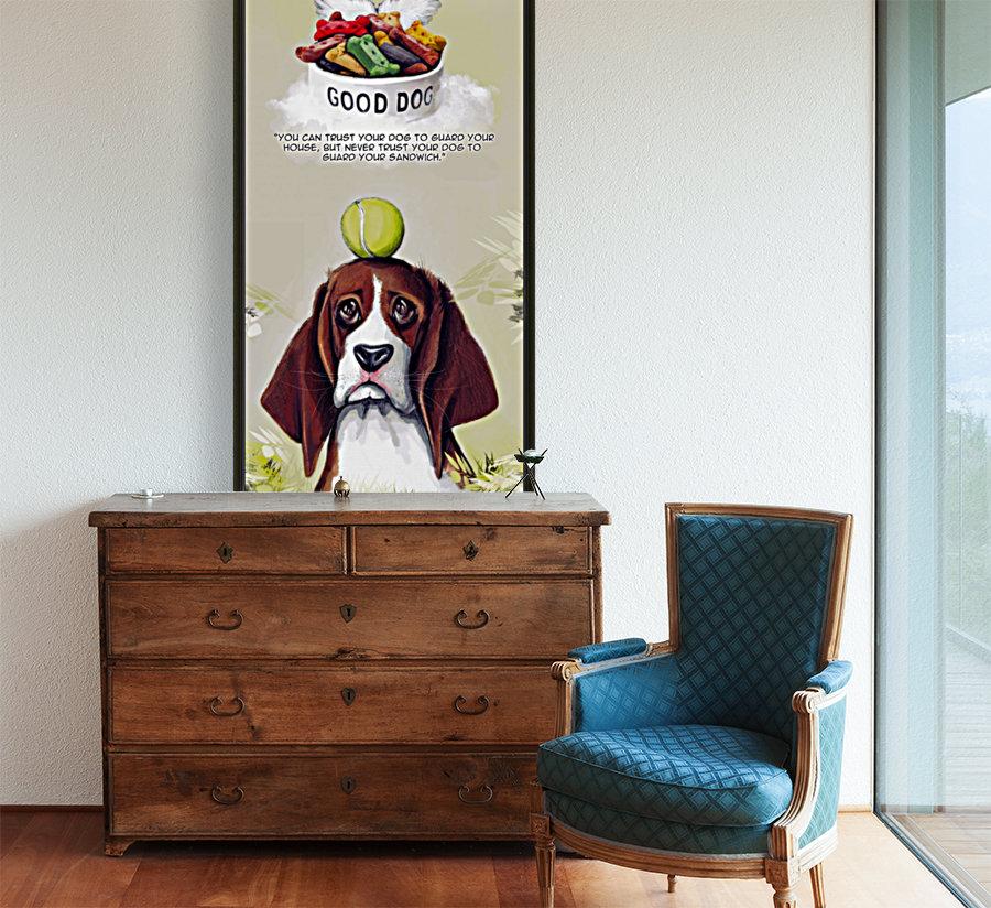 Beagle Quote  Art