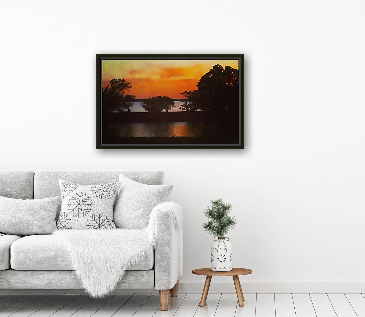 Tranquil Sunset  Art