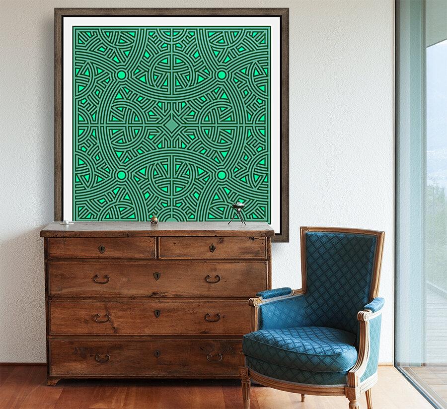 Maze 2800  Art