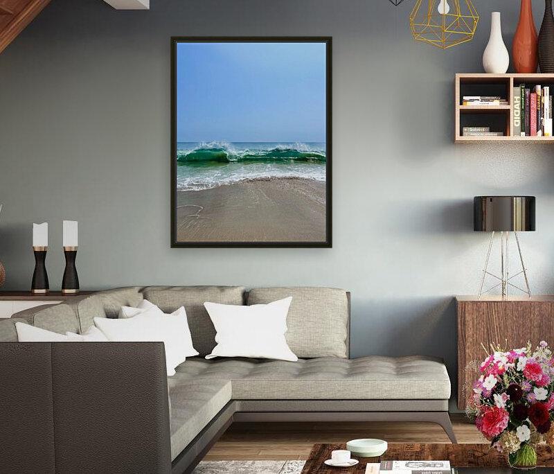 Crashing Waves - Malibu CA  Art