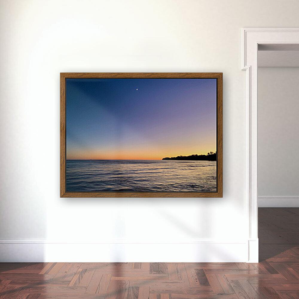 Sunset Moon - Malibu CA  Art