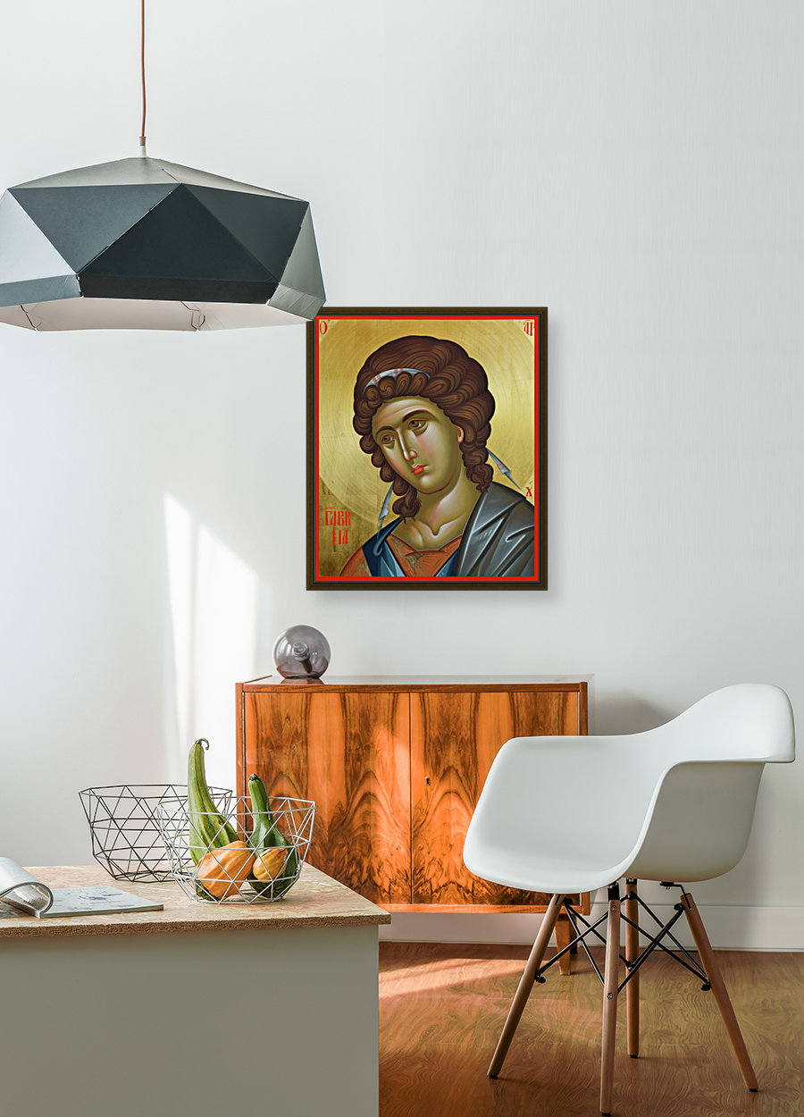 The Archangel Gabriel with Floating Frame