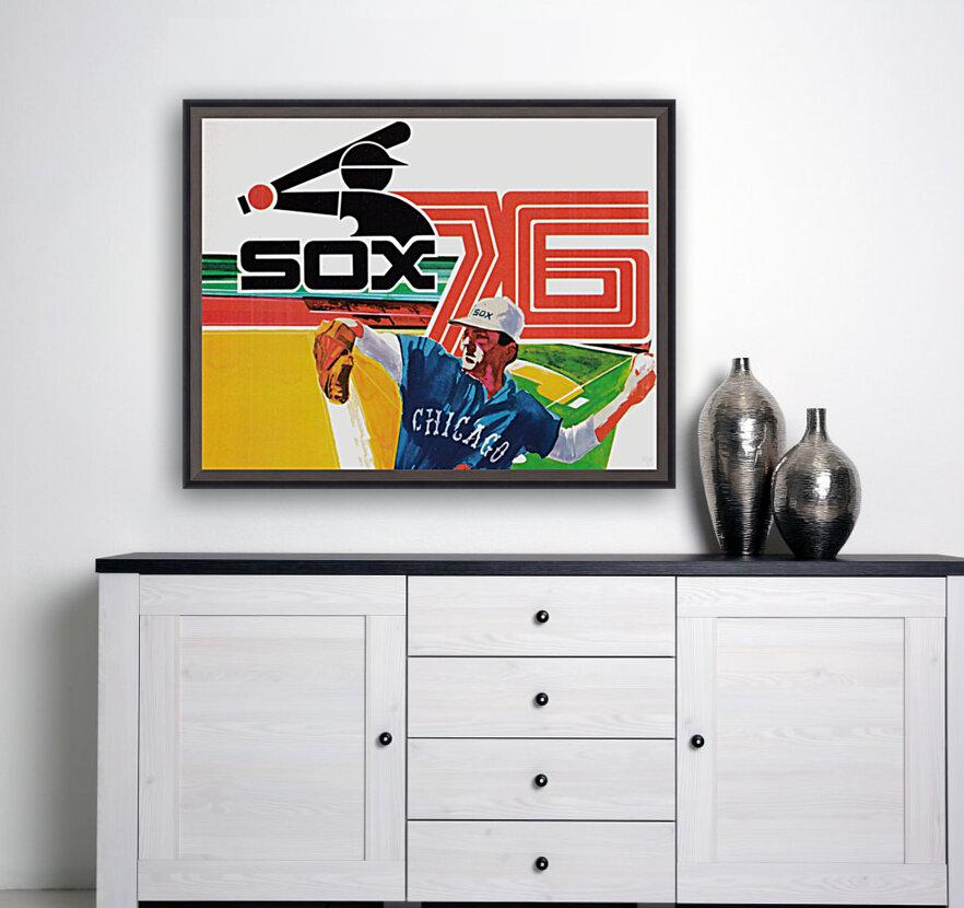 1976 Chicago White Sox Baseball Art  Art