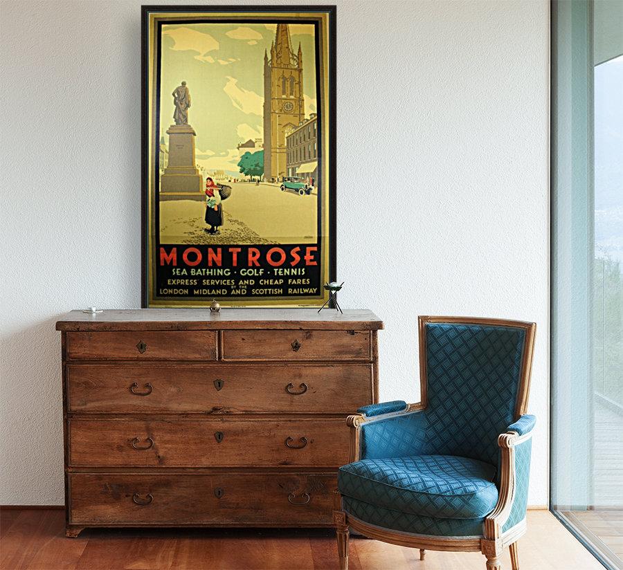 Montrose vintage travel poster  Art