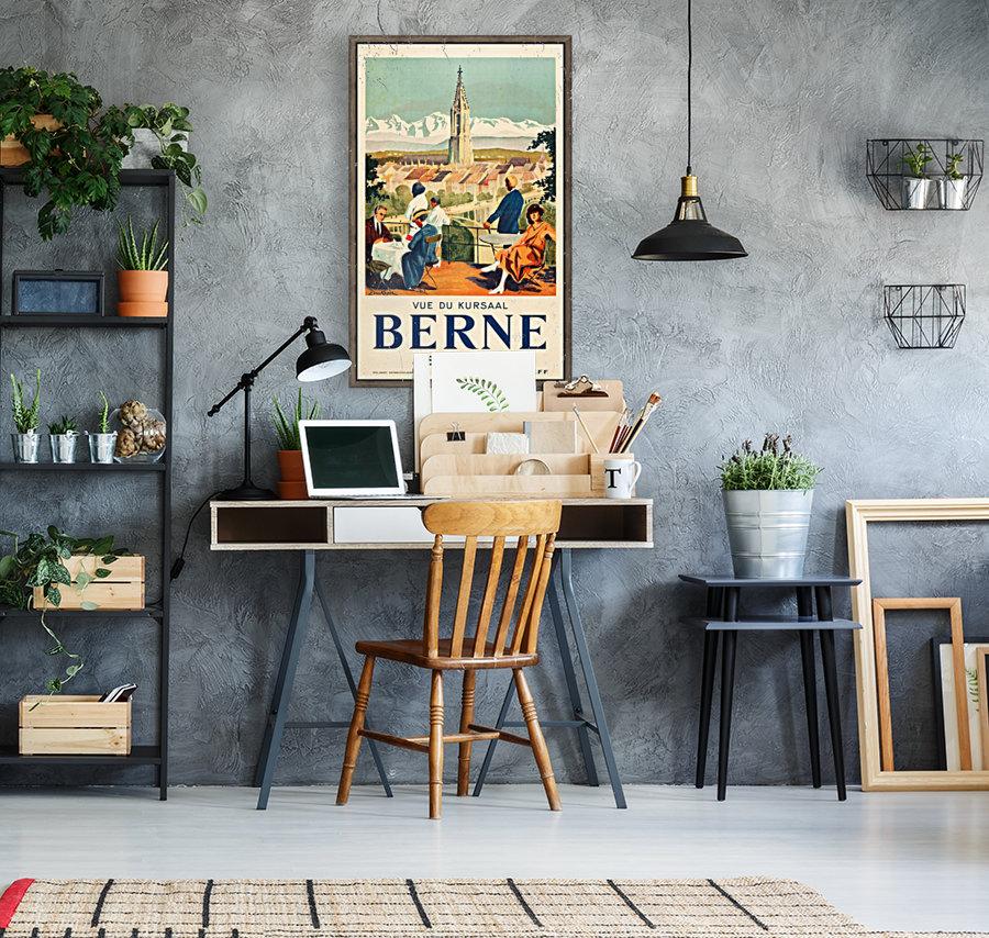 Bern, Switzerland Travel Poster  Art