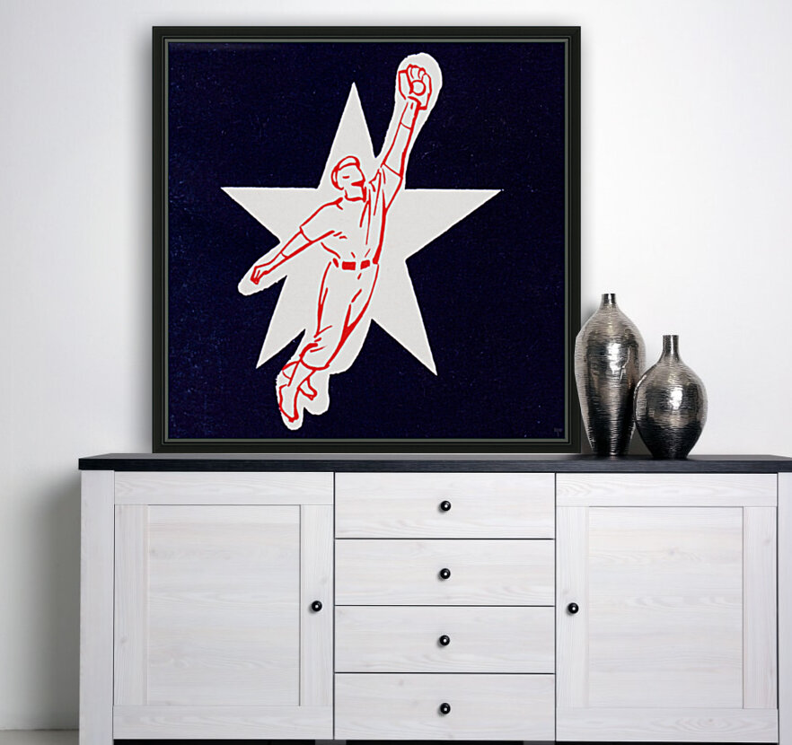1953 Baseball Star Art  Art