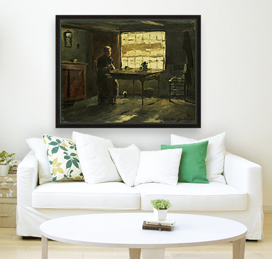 Farmhouse interior  Art