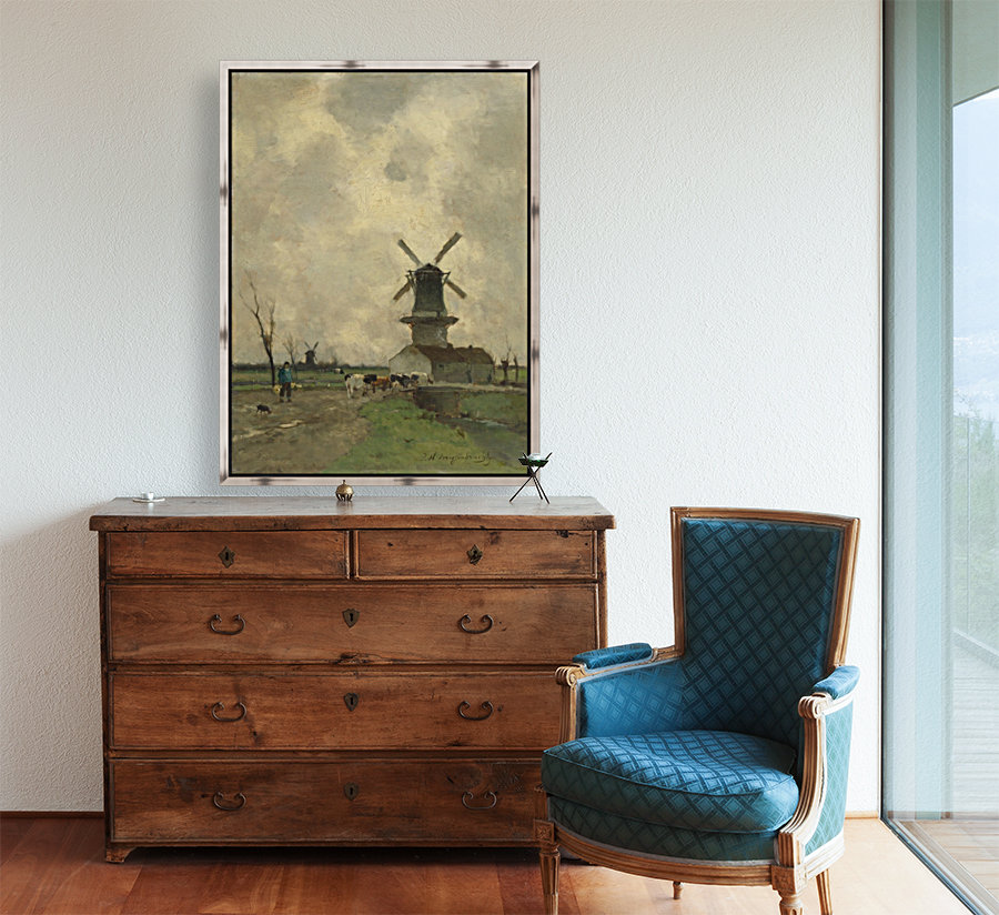 De Molen with Floating Frame