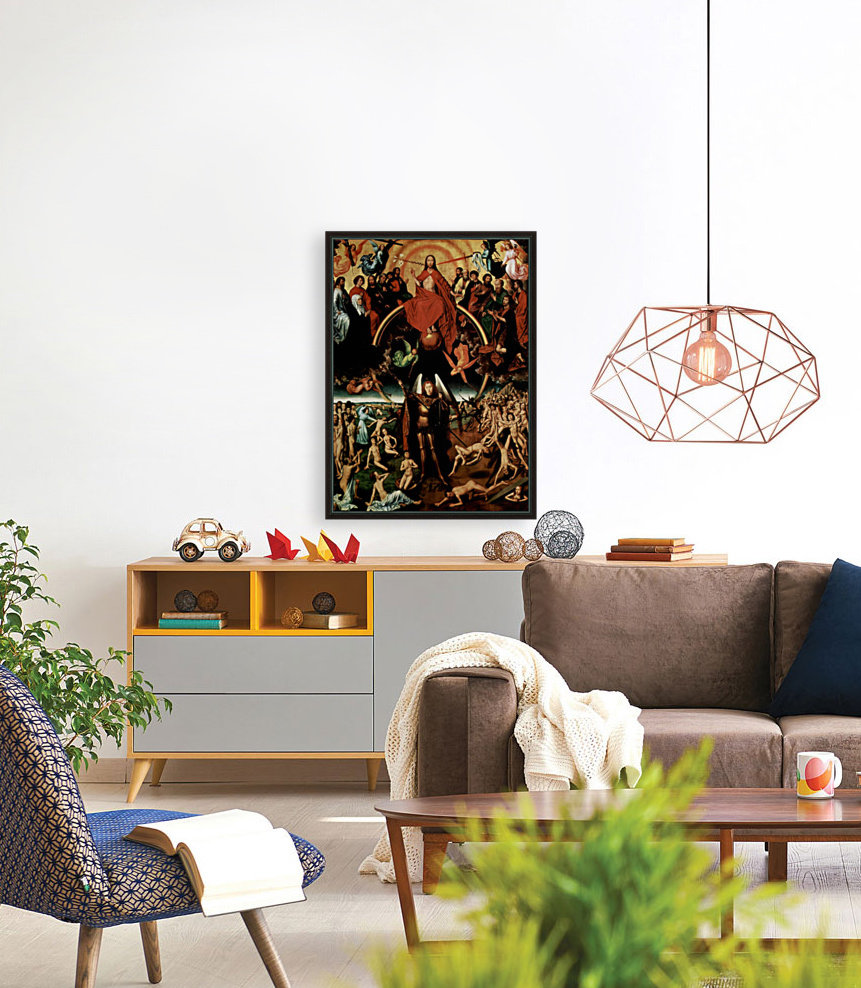 The Last Judgment, triptych, central panel  Art