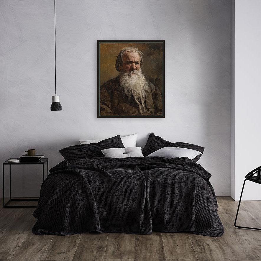 Portrait of an old man  Art