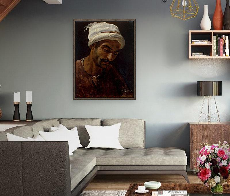 Head of an Arab  Art
