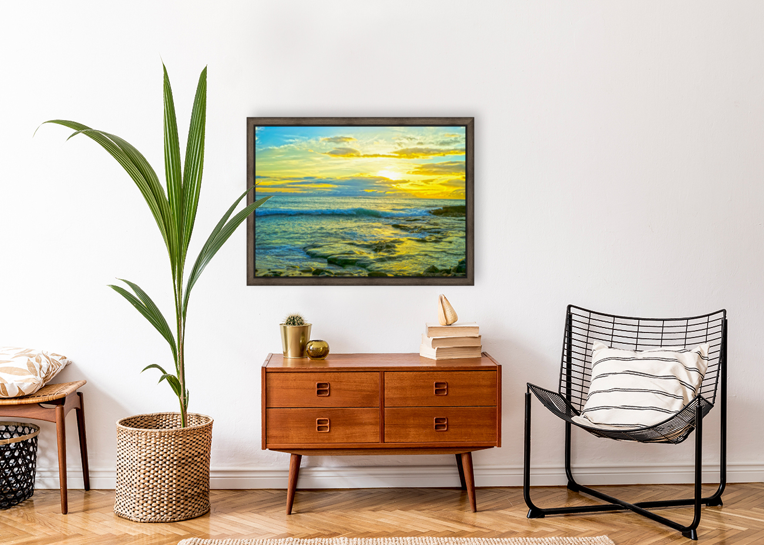 Sunset in Paradise   Hawaii  Art