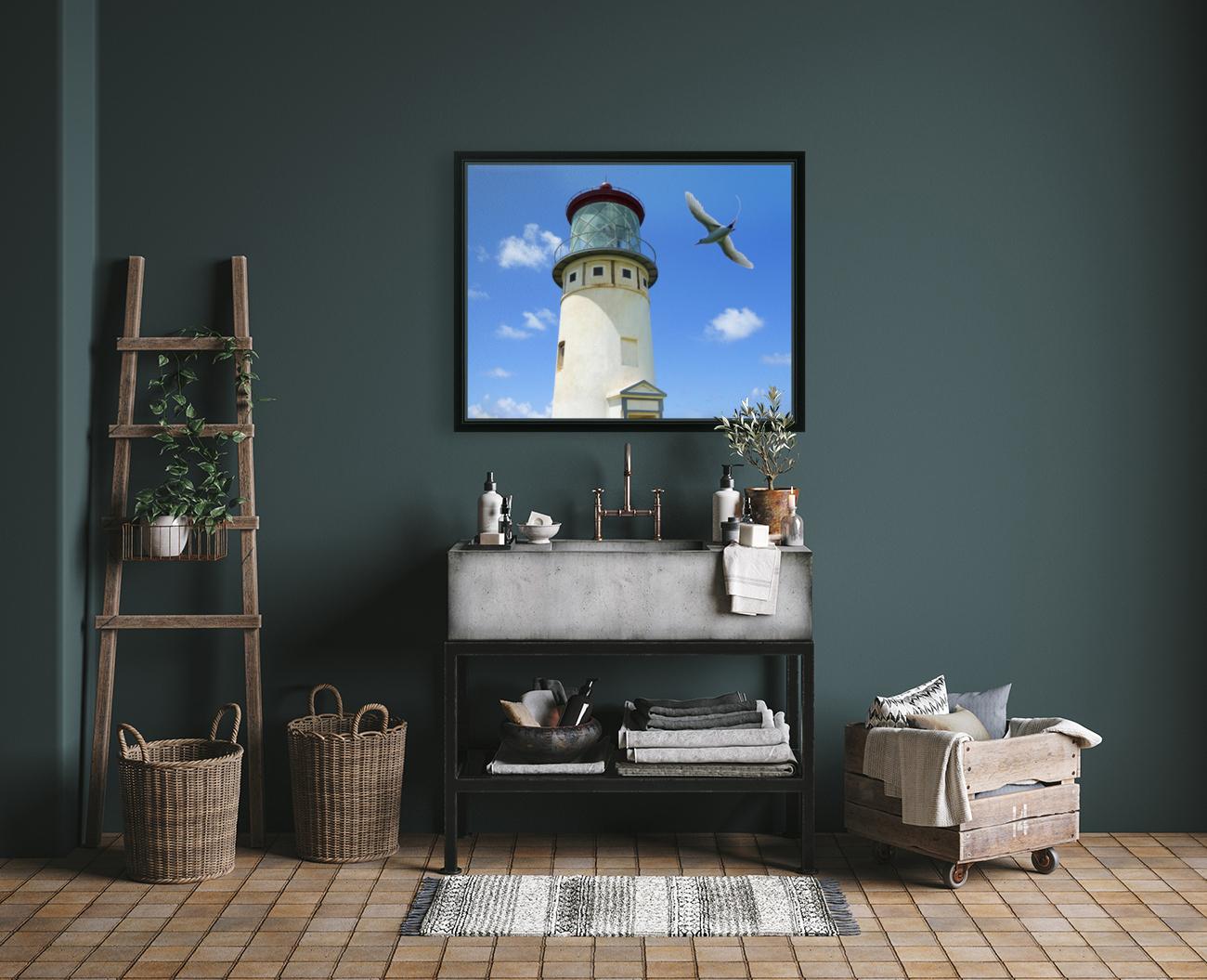 Kilauea Lighthouse and Wildlife Refuge on Kauai  Art