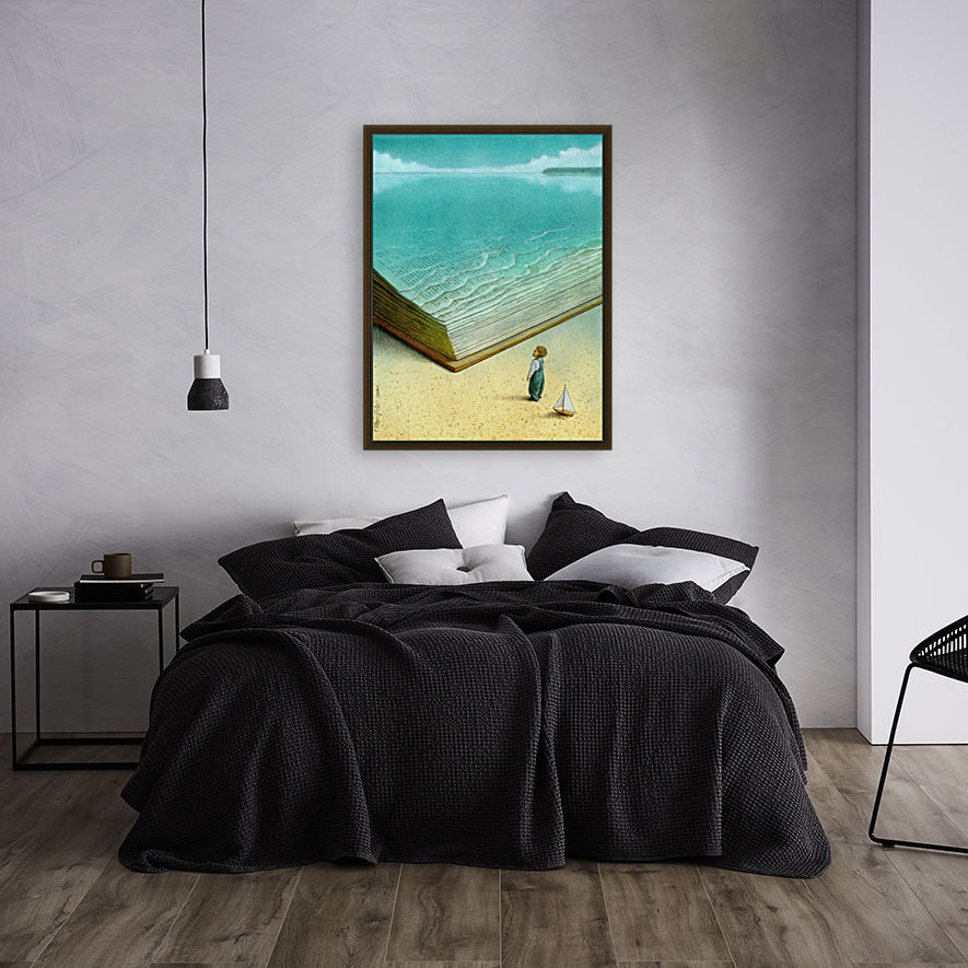 Ocean with Floating Frame