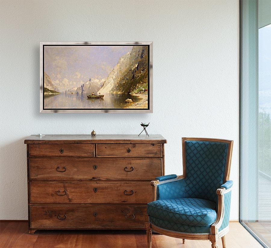 Fiord in Norway  Art