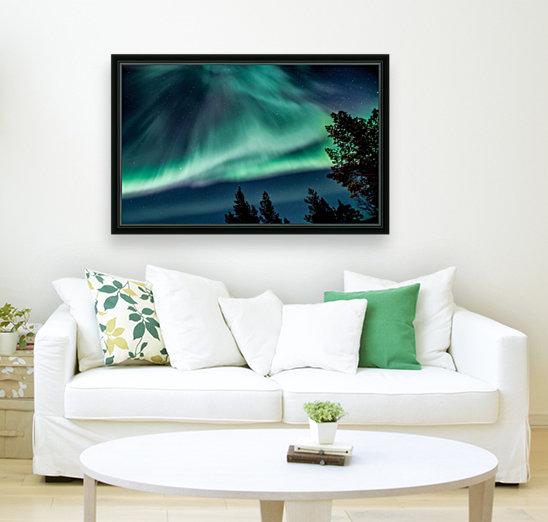 Green sky  Art