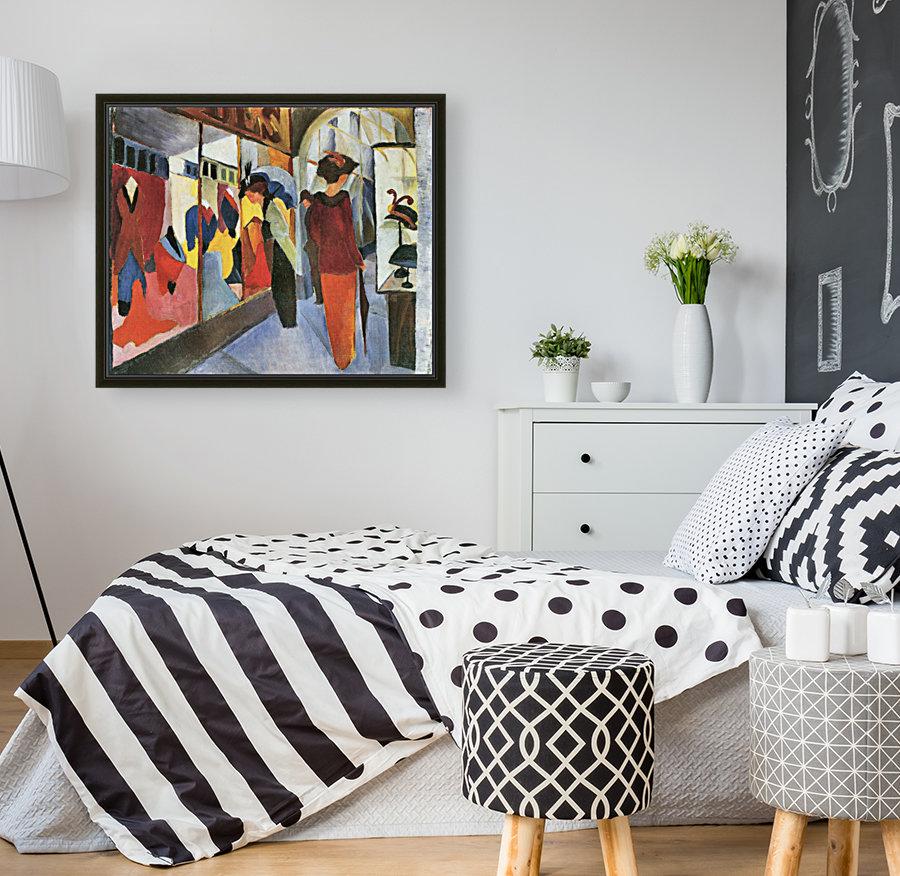 Fashion Store by August Macke  Art