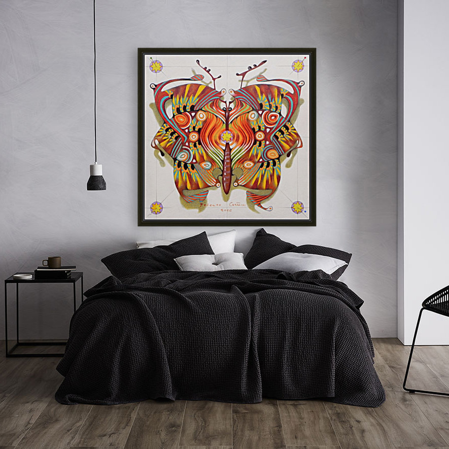 tribal butterfly  Art