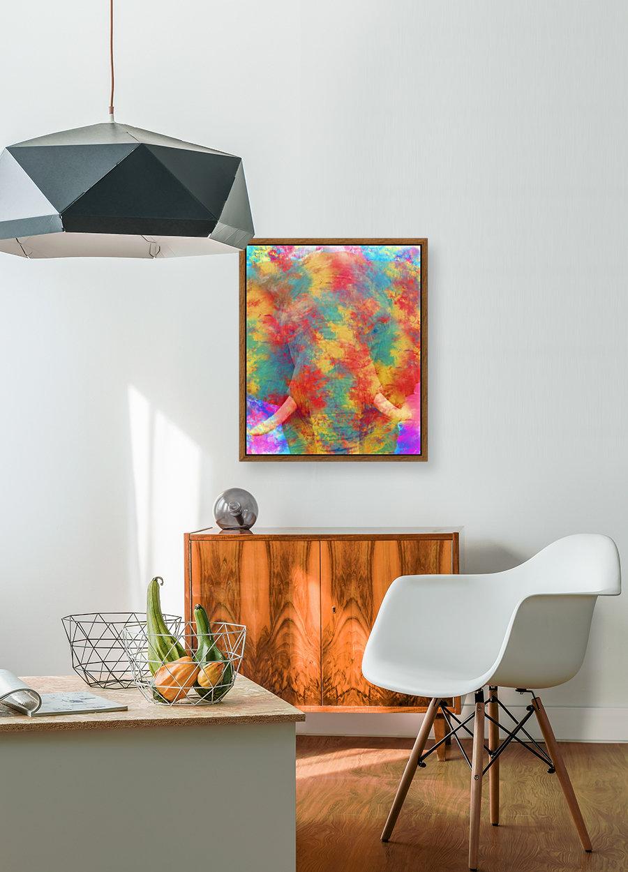 Abstract Elephant  Art