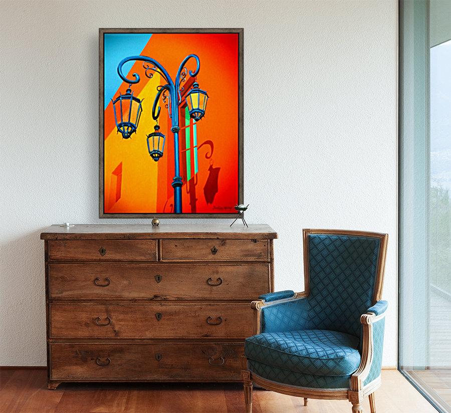 La Boca Lamp Shadows II  Art