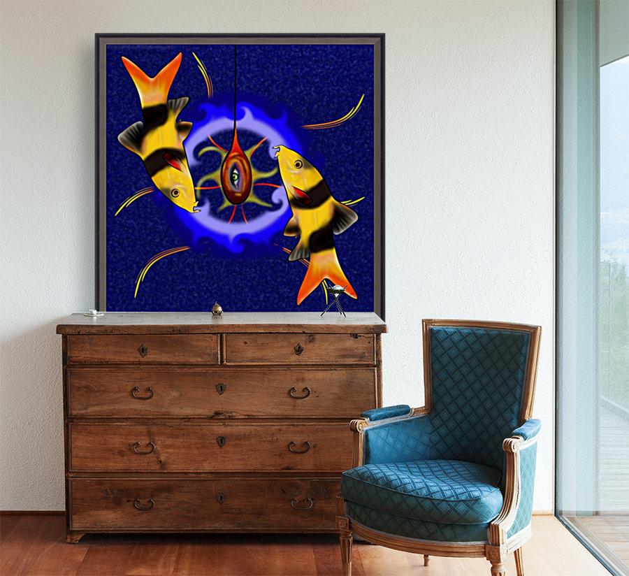 Macrachantis V1 - colourful fish  Art