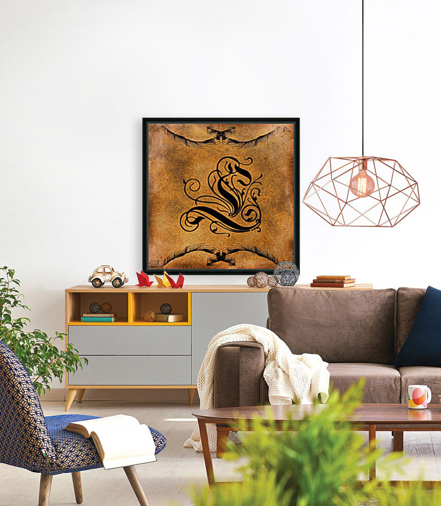 Beautiful Monogram Letter L  Art