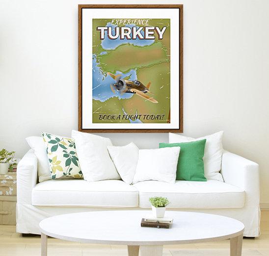 Turkey vintage travel poster  Art