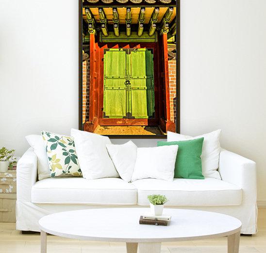 Korean Door  Art