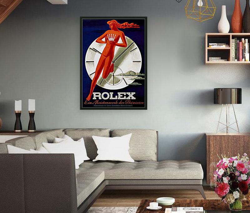 1942 Beyer Zurich Rolex Poster  Art