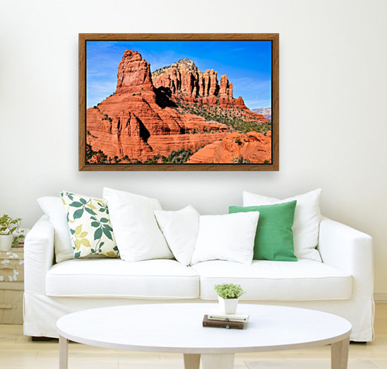 Bell Rock Sedona with Floating Frame