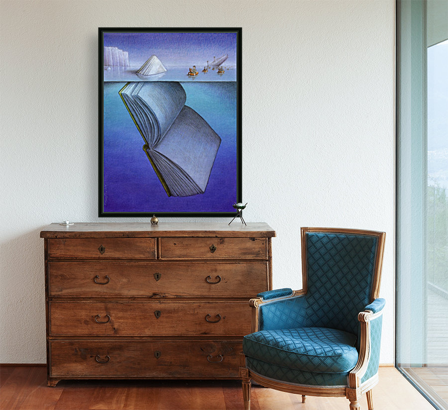 iceberg with Floating Frame