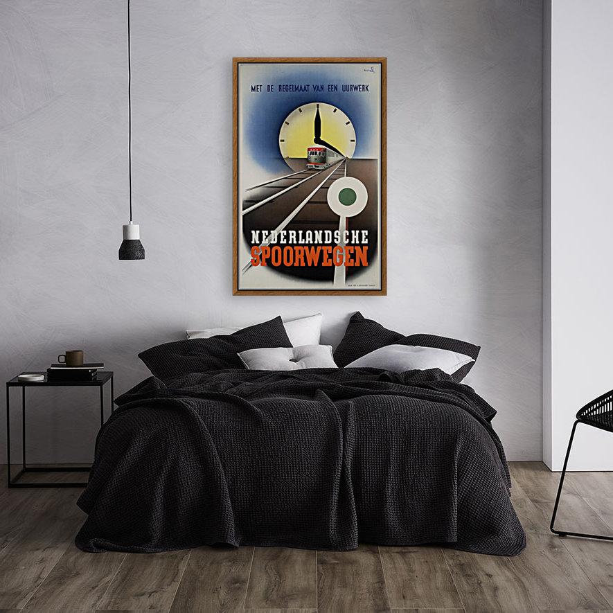 Nederlandse Spoorwegen Poster  Art