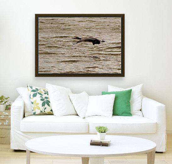 Heron flight  Art