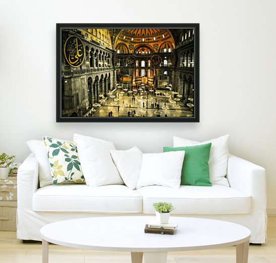 Hagia Sophia with Floating Frame